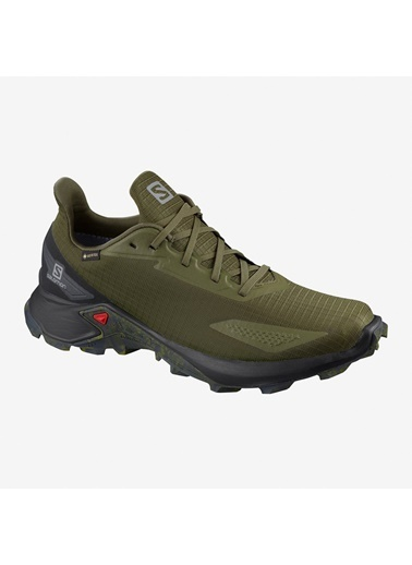 Salomon Salomon L41105800 Alphacross Blast Gore-Tex Erkek Outdoor Ayakkabısı Yeşil